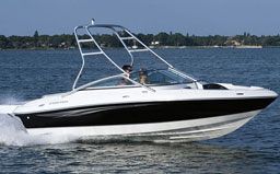 The Regal 1800 Bowrider is one of the boats Sunwave rents